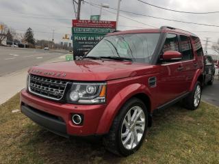 Used 2014 Land Rover LR4 HSE Navigation for sale in Burlington, ON