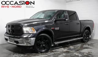 Used 2016 RAM 1500 Outdoorsman Crew Diesel NAVI for sale in Boisbriand, QC