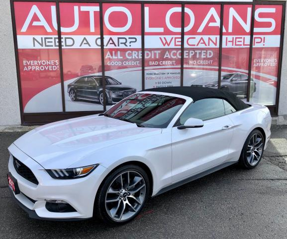 2017 Ford Mustang PREMIUM -ALL CREDIT ACCEPTED