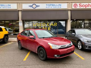 Used 2009 Ford Focus SES, Leather, Sunroof, Heated Seats, SYNC for sale in Vaughan, ON