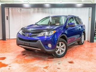 Used 2015 Toyota RAV4 XLE**ÉCRAN TACTILE**TOIT OUVRANT**BANCS CHAUFFANTS 90 JOURS SANS PAIEMENTS (DÉTAILS EN CONCESSION) for sale in Montreal, QC