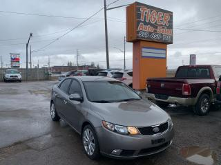 Used 2010 Kia Forte SX**LEATHER**SUNROOF**AUTO**ONLY 138KMS**CERTIFIED for sale in London, ON