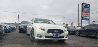 Used 2015 Infiniti Q50 for sale in Brampton, ON