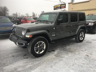 Used 2020 Jeep Wrangler Unlimited Sahara à vendre DemDist Nav for sale in Laval, QC
