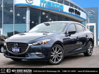 Used 2018 Mazda MAZDA3 GT for sale in Mississauga, ON