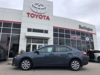 Used 2016 Toyota Corolla LE for sale in Burlington, ON