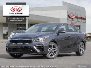 New 2020 Kia Forte Sedan EX Limited IVT for sale in Kitchener, ON