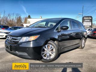 Used 2015 Honda Odyssey EX-L LEATHER  ROOF  NAVI  BACKUP CAMERA for sale in Ottawa, ON