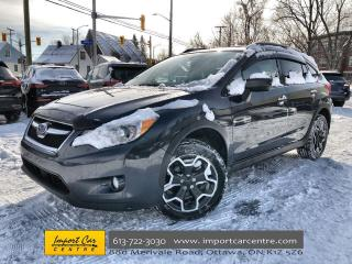 Used 2015 Subaru XV Crosstrek Sport Package RARE 5 SPD  SUNROOF  ALLOYS for sale in Ottawa, ON