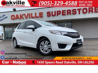 Used 2016 Honda Fit HB CVT LX | HTD SEATS | B/U CAM | BLUETOOTH for sale in Oakville, ON