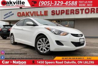 Used 2013 Hyundai Elantra Auto GL | HTD SEATS | BLUETOOTH | CRUISE for sale in Oakville, ON
