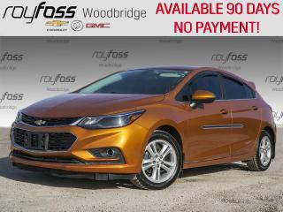 Used 2017 Chevrolet Cruze LT SUNROOF, BOSE, HEATED SEATS for sale in Woodbridge, ON