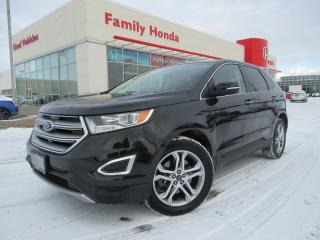 Used 2015 Ford Edge 4dr Titanium AWD | NAVIGATION | PUSH START | for sale in Brampton, ON
