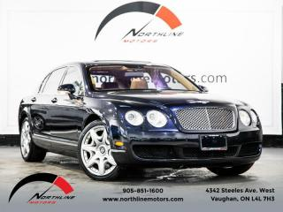 Used 2006 Bentley Continental Flying Spur (CFS) 551HP AWD|Air Suspension|Heated Cooled Front/Rear Leather for sale in Vaughan, ON