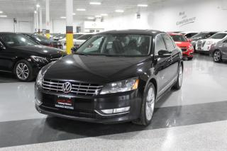 Used 2013 Volkswagen Passat TDI HIGHLINE I NO ACCIDENTS I LEATHER I REMOTE STARTER I BT for sale in Mississauga, ON