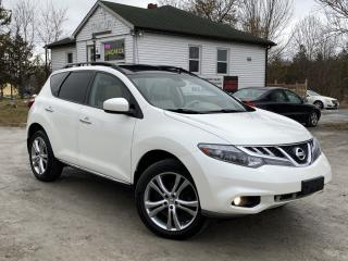 Used 2012 Nissan Murano No-Accident SL AWD Leather Pano Roof Backup Cam BOSE Audio for sale in Sutton, ON