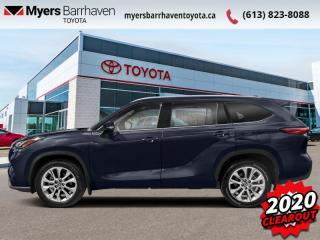 New 2020 Toyota Highlander Limited  - Leather Seats - $346 B/W for sale in Ottawa, ON