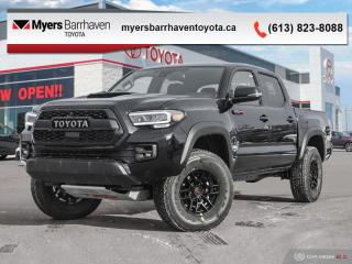 New 2020 Toyota Tacoma TRD Pro  - Navigation -  Leather Seats for sale in Ottawa, ON