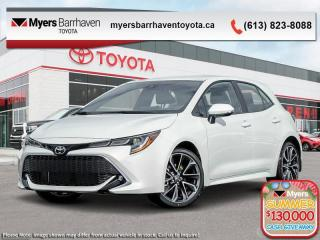 New 2020 Toyota Corolla Hatchback XSE  - Navigation - $197 B/W for sale in Ottawa, ON