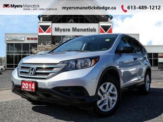 Used 2014 Honda CR-V LX  - Bluetooth -  Heated Seats - $136 B/W for sale in Ottawa, ON