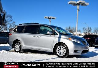 Used 2016 Toyota Sienna LE AWD for sale in Pointe-Claire, QC
