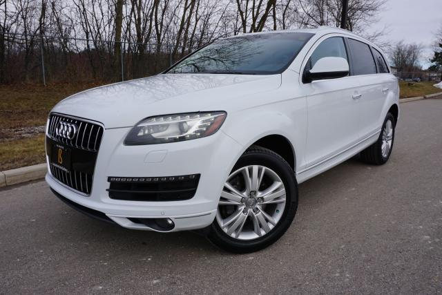 2012 Audi Q7 ONE OWNER / NO ACCIDENTS / IMMACULATE / LOADED