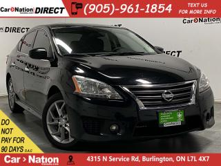 Used 2014 Nissan Sentra SR| PUSH START| ALLOYS| LOCAL TRADE| for sale in Burlington, ON