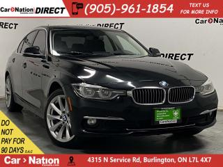 Used 2017 BMW 3 Series 328d xDrive| SUNROOF| NAVI| BACK UP CAMERA| for sale in Burlington, ON