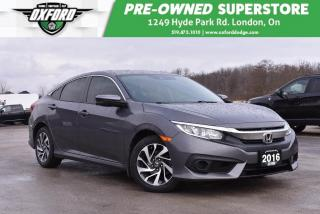 Used 2016 Honda Civic EX w/Honda Sensing for sale in London, ON
