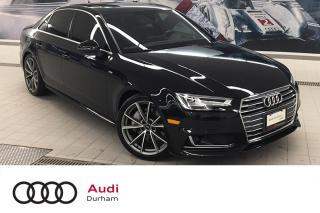 Used 2017 Audi A4 2.0L Technik quattro + S-Line | 360 Cam | LED for sale in Whitby, ON