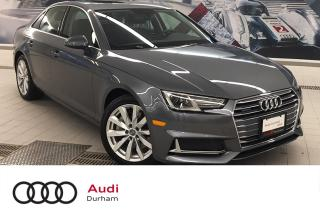 Used 2019 Audi A4 2.0T Komfort 45 quattro + LED | Rear Cam | Fog for sale in Whitby, ON