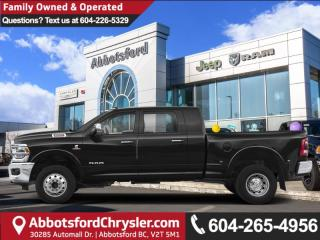 New 2019 RAM 3500 Limited - Diesel Engine - Sunroof for sale in Abbotsford, BC
