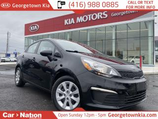 Used 2017 Kia Rio LX+ | AUTO | HEATED SEATS | BLUETOOTH | ECO MODE for sale in Georgetown, ON