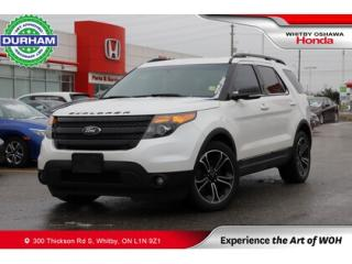 Used 2015 Ford Explorer 4WD 4DR SPORT for sale in Whitby, ON