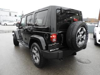 Used 2018 Jeep Wrangler JK Unlimited Sahara NAVI/LEATHER//UCONNECT/REMOTE START for sale in Concord, ON