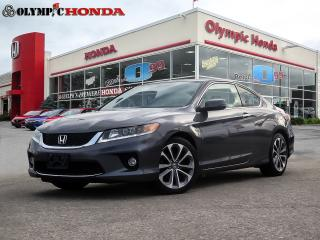 Used 2015 Honda Accord Coupé EX-L Navi for sale in Guelph, ON