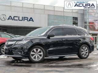 Used 2016 Acura MDX Elite Package ELITE | 1OWNER | TINT | DVD | RUNNINGBOARDS | AWD for sale in Burlington, ON