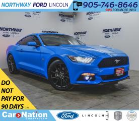 Used 2017 Ford Mustang COUPE | V6 | 6-SPEED | BACKUP CAM | PUSH START | for sale in Brantford, ON