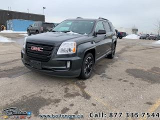 Used 2017 GMC Terrain SLE-2 AWD - One owner vehicle - Trade in - Accident FREE - Rear vision camera for sale in Bolton, ON