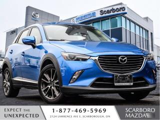Used 2016 Mazda CX-3 GT|TECH PACKAGE|NAVI|AWD|1 OWNER|NO ACCIDENT for sale in Scarborough, ON