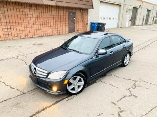 Used 2009 Mercedes-Benz C-Class 3.0L | NAVI | PARK ASSIST for sale in Burlington, ON