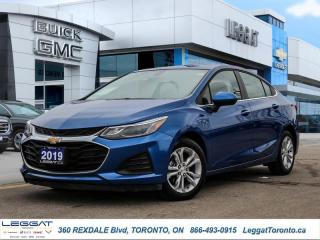 Used 2019 Chevrolet Cruze LT  - Apple CarPlay -  Android Auto for sale in Etobicoke, ON