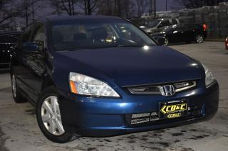 Used 2003 Honda Accord LX-G - NO ACCIDENTS for sale in Oakville, ON
