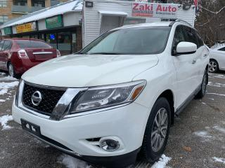 Used 2013 Nissan Pathfinder 2013 Pathfinder SL/Leather/Backup Camera/Safety included Price for sale in Toronto, ON