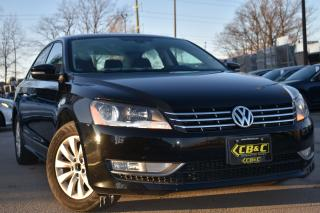 Used 2013 Volkswagen Passat Trendline - ONLY $99.48 BI WEEKLY O.A.C for sale in Oakville, ON