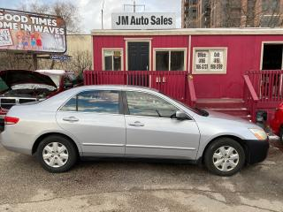 Used 2003 Honda Accord LX-G for sale in Toronto, ON