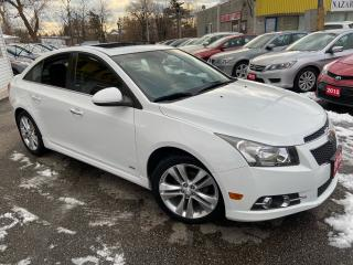 Used 2012 Chevrolet Cruze LT/ 6 SPEED/ SUNROOF/ PWR GROUP/ ALLOYS/ LIKE NEW! for sale in Scarborough, ON