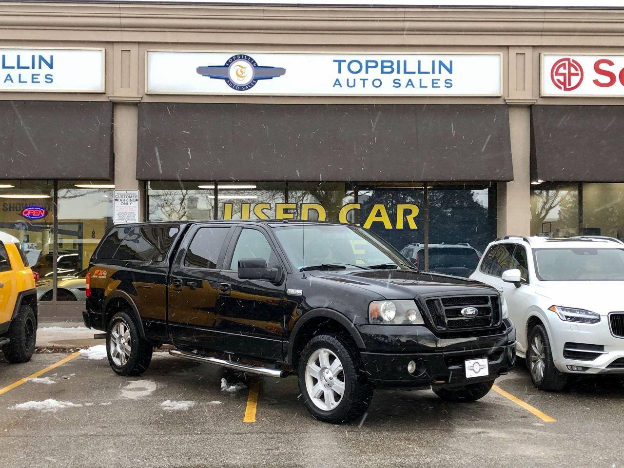 2008 Ford F-150 FX4 CrewCab, 4X4, 5.4L, LEER Cab