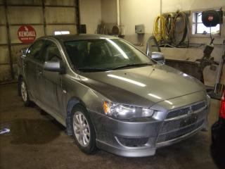 Used 2012 Mitsubishi Lancer AWD for sale in Fenelon Falls, ON