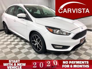 Used 2015 Ford Focus SE - APPEARANCE PKG/LOCAL VEHICLE/FACTORY WARRANTY for sale in Winnipeg, MB